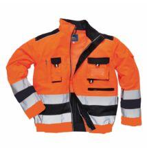 TX50 Texo Hi-Vis kabát, narancs/sötétkék