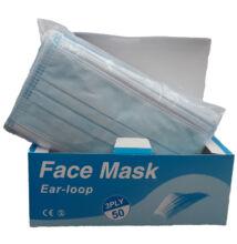 3 rétegű Orvosi maszk, alumínium orrmerevítővel