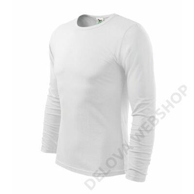 Fit-T LS Pólók férfi, fehér