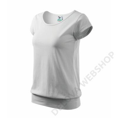 City Pólók női, fehér