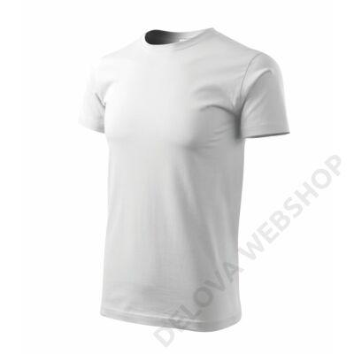 Heavy New Pólók unisex, fehér