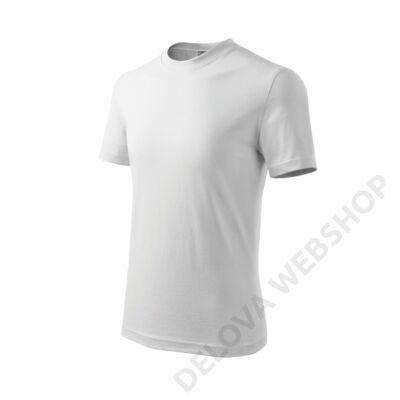 Basic Pólók gyerek, fehér