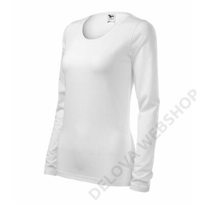 Slim Pólók női, fehér