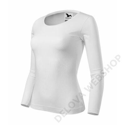 Fit-T LS Pólók női, fehér