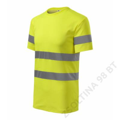HV Protect Pólók unisex, fényvisszaverő sárga