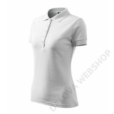 Pique Polo Galléros póló női, fehér