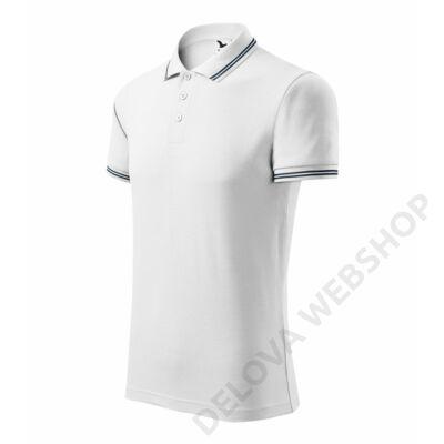 Urban ADLER galléros póló férfi, fehér