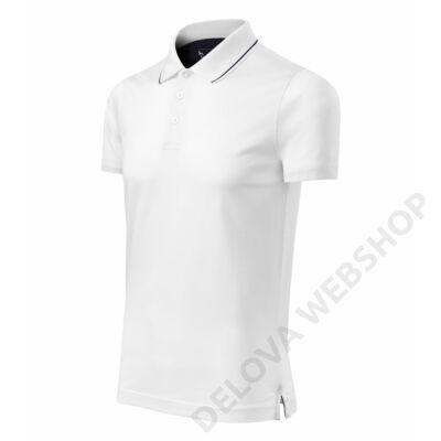 Grand MALFINI galléros póló férfi, fehér