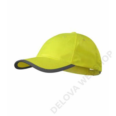 HV Reflex Sapka unisex, fényvisszaverő sárga