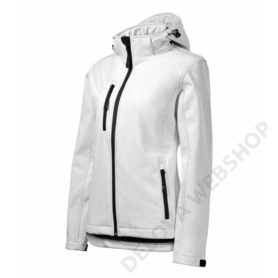 Performance Softshell kabát női, fehér