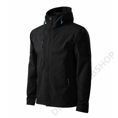 Nano Softshell kabát férfi, fekete