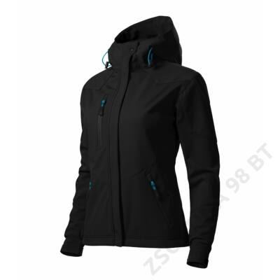 Nano Softshell kabát női, fekete