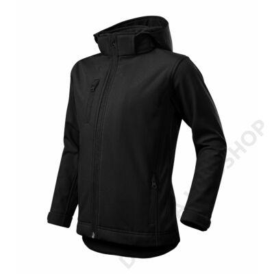 Performance Softshell kabát gyerek, fekete
