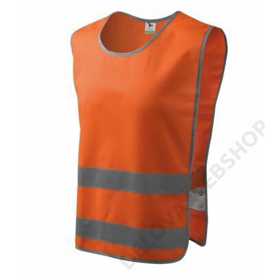 Classic Safety Vest Biztonsági mellény unisex, visszaverő szín narancssárga