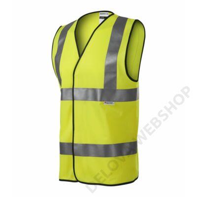 HV Bright Biztonsági mellény unisex, fényvisszaverő sárga