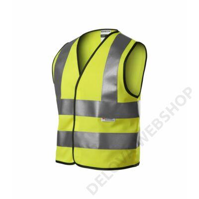 HV Bright Biztonsági mellény gyerek, fényvisszaverő sárga