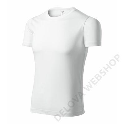 Pixel Pólók unisex, fehér