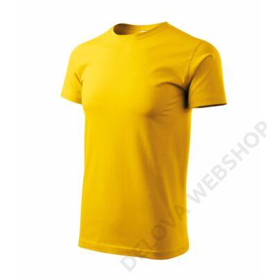 Heavy New Pólók unisex, sárga