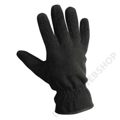 MYNAH polár kesztyű, fekete