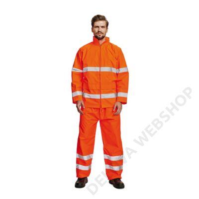 GORDON kabát f esőkabát HiVis, narancs