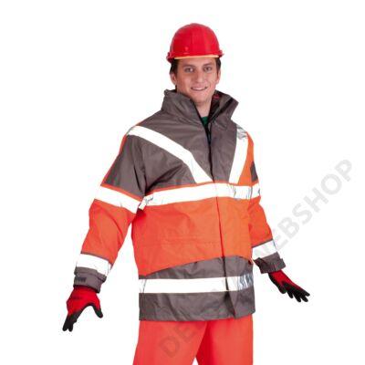 SKOLLFIELD kabát 4x1, piros