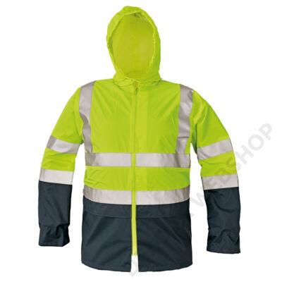 EPPING kabát, sárga/kék