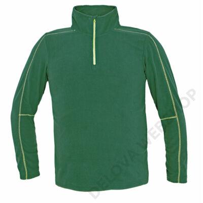 WELBURN polár pulóver, zöld