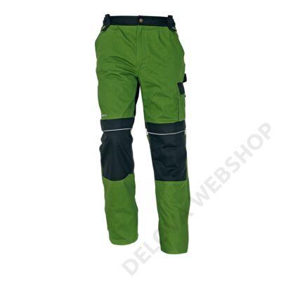STANMORE derekas nadrág, zöld/fekete