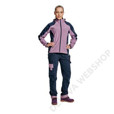 YOWIE nadrág női navy/világos lila