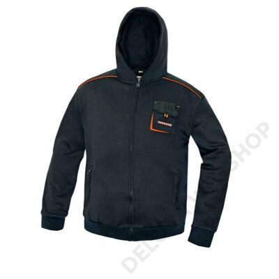 EMERTON kapucnis pulóver, fekete