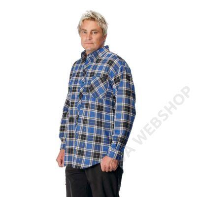 SATURN flanell ing, világoskék