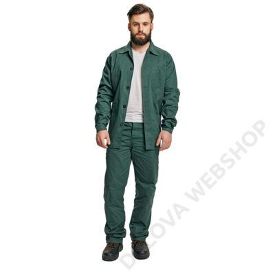FF BE-1-001 set(kabát+nadr), zöld
