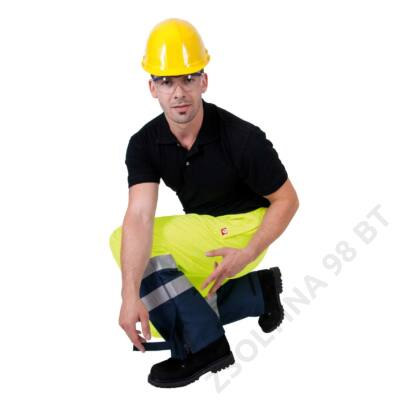 GLADSTONE nadrág, sárga/kék