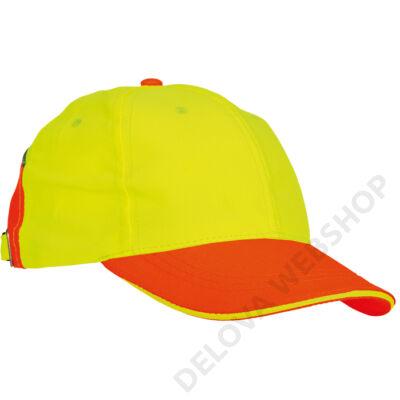 KNOXFIELD HV baseball sapka, sárga/narancs