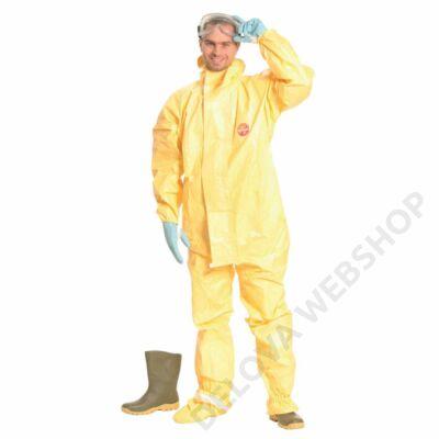 TYCHEM C overál lábfejvédővel, sárga
