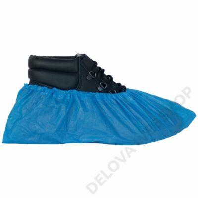 Nylon cipővédő, kék, 100 db/cs