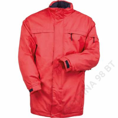 POLE-NORD bélelt kabát, piros