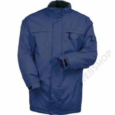 POLE-OUEST bélelt kabát, kék