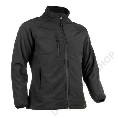 SHIKIMI női softshell kabát, fekete
