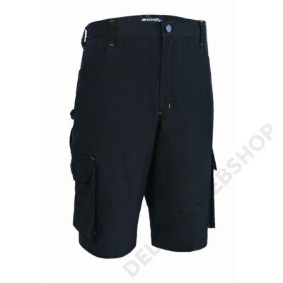 TENERIO rugalmas és könnyű rövid nadrág, fekete