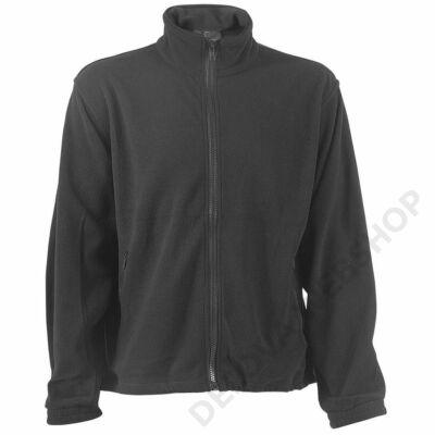Polár pulóver cipzáros szürke -XS