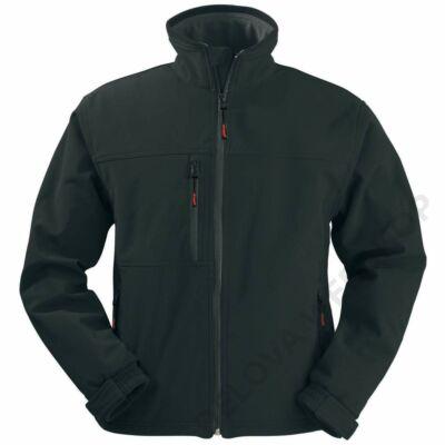 YANG férfi softshell kabát, fekete