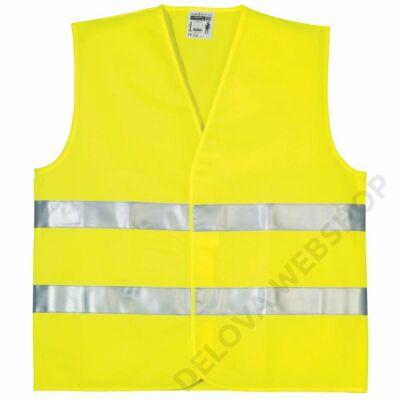 OXFORD FLUO jól láthatósági mellény, sárga