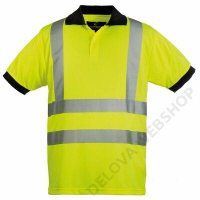 HI-VIZ fényvisszaverő póló, sárga