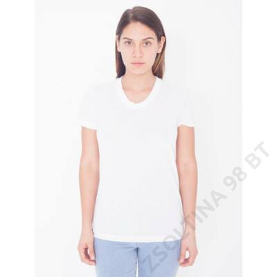 AAPL301 SUBLIMATION WOMEN'S SHORT SLEEVE T-SHIRT, White