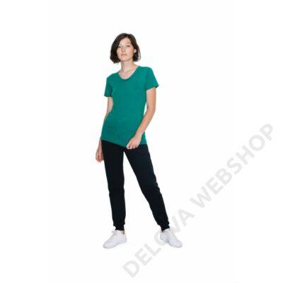 AATR301 WOMEN'S TRI-BLEND SHORT SLEEVE TRACK T-SHIRT, Athletic Blue