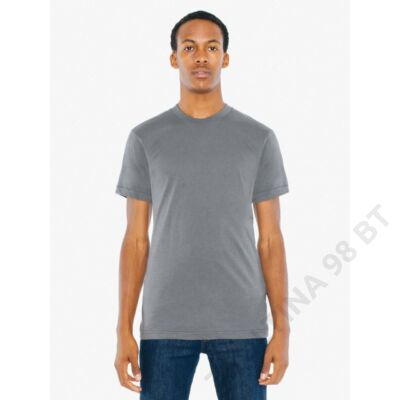 AABB401 UNISEX POLY-COTTON SHORT SLEEVE T-SHIRT, Asphalt