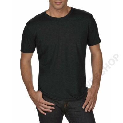 AN6750 ADULT TRI-BLEND TEE, Black