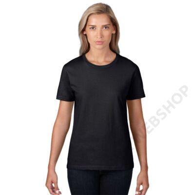 AN880 WOMEN'S FASHION BASIC TEE, Black