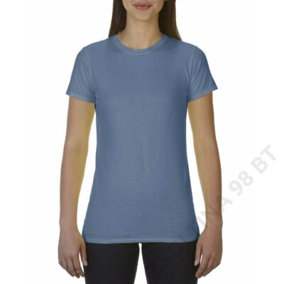 CC4200 LADIES' FITTED TEE, Blue Jean